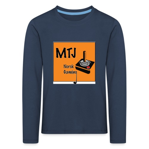 Mtj Logo - Premium langermet T-skjorte for barn