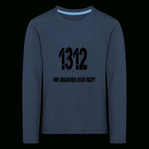 1312 BOSS - Kinder Premium Langarmshirt