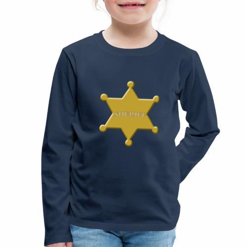 scheriff - Kinder Premium Langarmshirt
