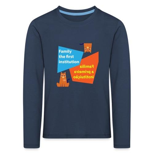 Duna Família - Premium langermet T-skjorte for barn