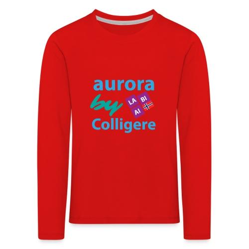 Aurora by Colligere - Premium langermet T-skjorte for barn