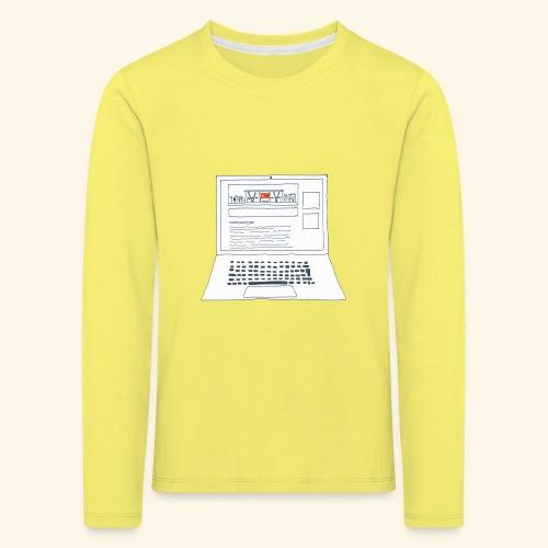 Laptop 20CENT Retail - T-shirt manches longues Premium Enfant