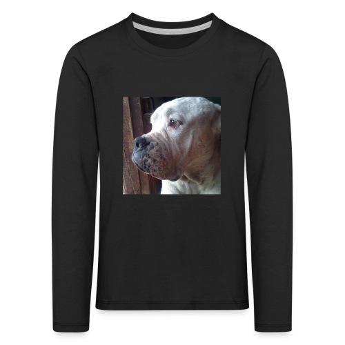 Mirada Perritus - Camiseta de manga larga premium niño