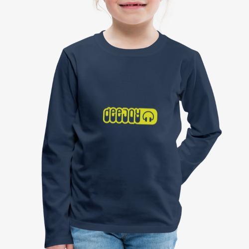 DJ - Camiseta de manga larga premium niño