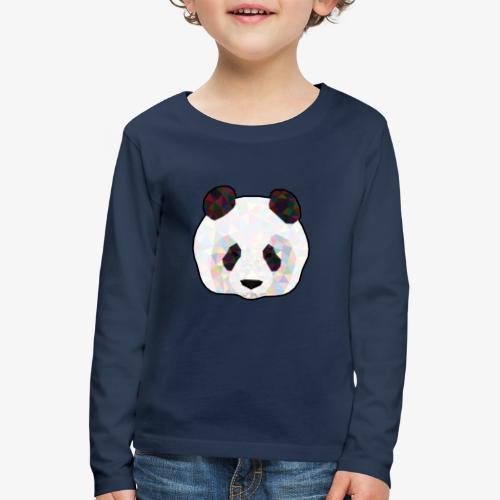 Panda - T-shirt manches longues Premium Enfant