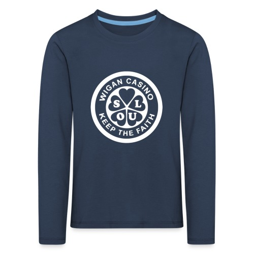 Wigan Casino - Kids' Premium Longsleeve Shirt