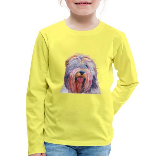 schapendoes - Børne premium T-shirt med lange ærmer