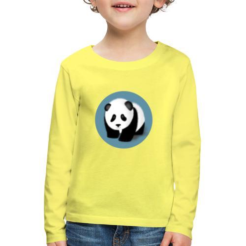Little Panda - Kinder Premium Langarmshirt
