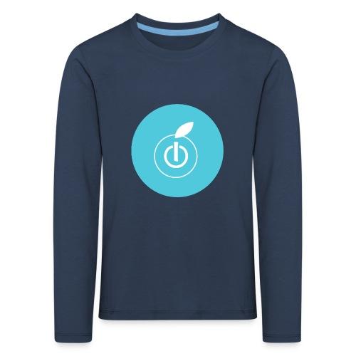 AppleZein Logo Grande - Maglietta Premium a manica lunga per bambini