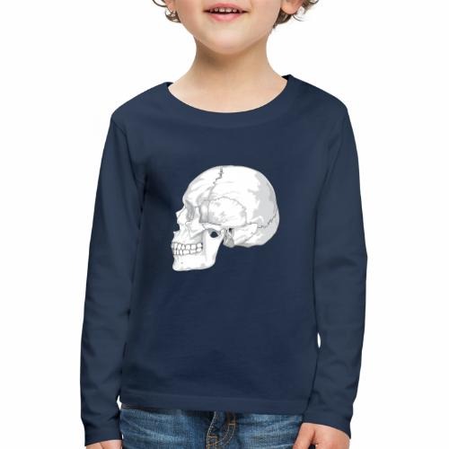 Schädel - Kinder Premium Langarmshirt