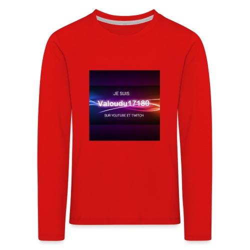 Valoudu17180twitch - T-shirt manches longues Premium Enfant