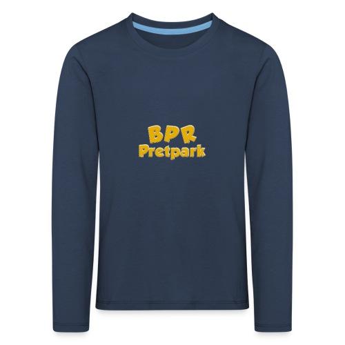 BPR Pretpark logo - Kinderen Premium shirt met lange mouwen