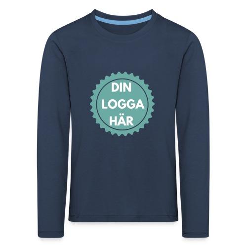 Egen Logga - Långärmad premium-T-shirt barn