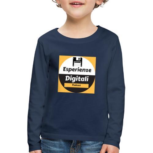 Logo Esperienze Digitali - Maglietta Premium a manica lunga per bambini