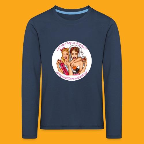 Jungesellinnenabschied - Kinder Premium Langarmshirt