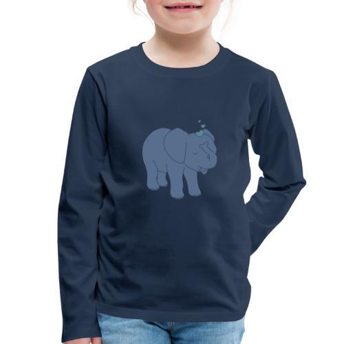 Little elephant - Kinder Premium Langarmshirt