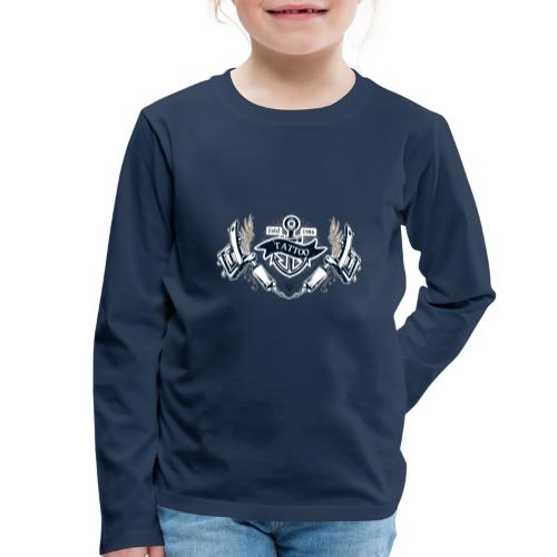 Tatoo 01 - Maglietta Premium a manica lunga per bambini