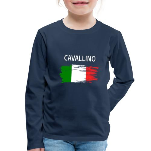 Cavallino Fanprodukte - Kinder Premium Langarmshirt