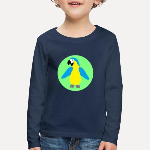 Yellow-breasted Macaw - Kids' Premium Longsleeve Shirt