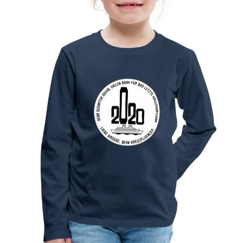 Kreuzfluenzer- Covid 2020 Edition - Kinder Premium Langarmshirt