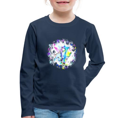 Loups - T-shirt manches longues Premium Enfant