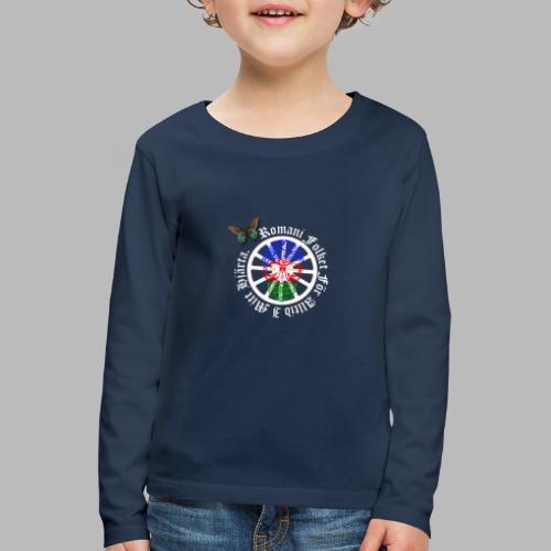 LennyhjulRomaniFolketivitfjerliskulle - Långärmad premium-T-shirt barn