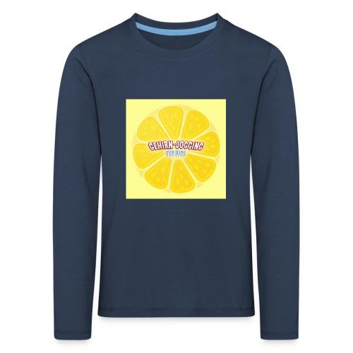 zitronetextur - Kinder Premium Langarmshirt