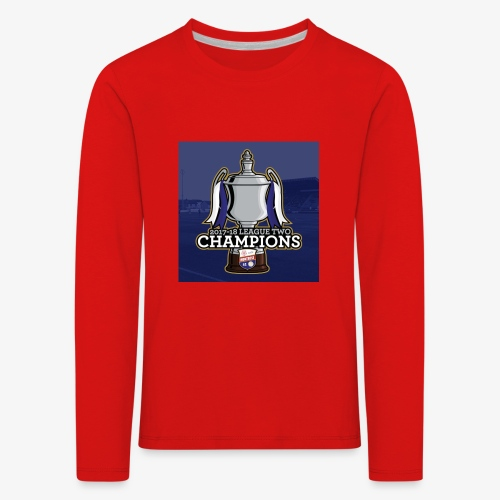MFC Champions 2017/18 - Kids' Premium Longsleeve Shirt