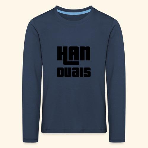 Han Ouais GTA noir - T-shirt manches longues Premium Enfant