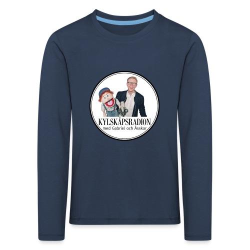 Kylskåpsradions logga - Långärmad premium-T-shirt barn