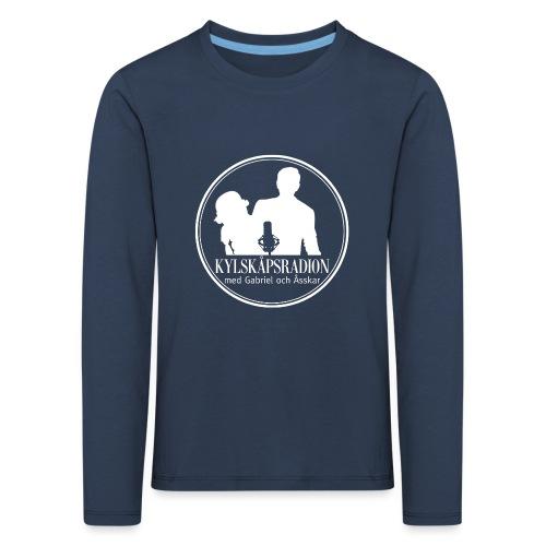 Logga helvit - Långärmad premium-T-shirt barn