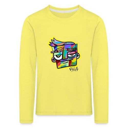 Rilla colour face - Kinderen Premium shirt met lange mouwen