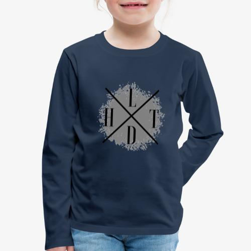 Hoamatlaund crossed - Kinder Premium Langarmshirt