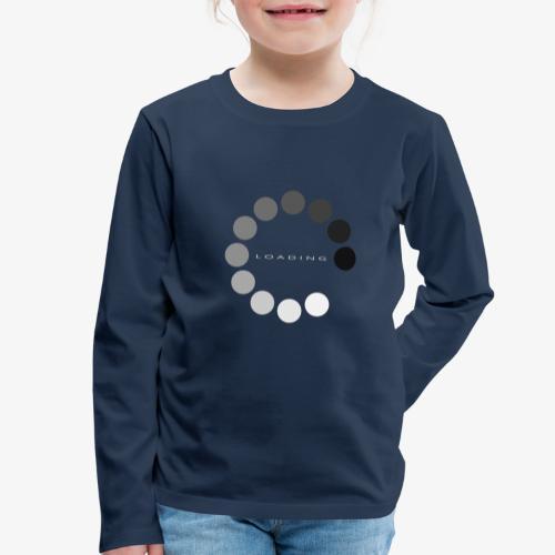 loading 1 - Koszulka dziecięca Premium z długim rękawem