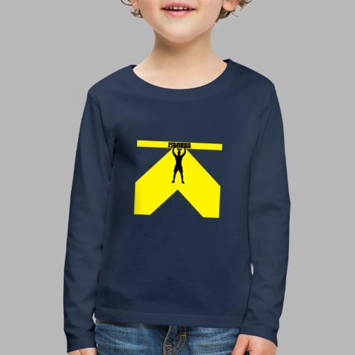 Fitness Lift - Kinder Premium Langarmshirt
