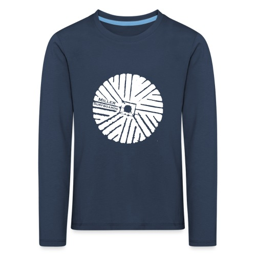 White chest logo sweat - Kids' Premium Longsleeve Shirt