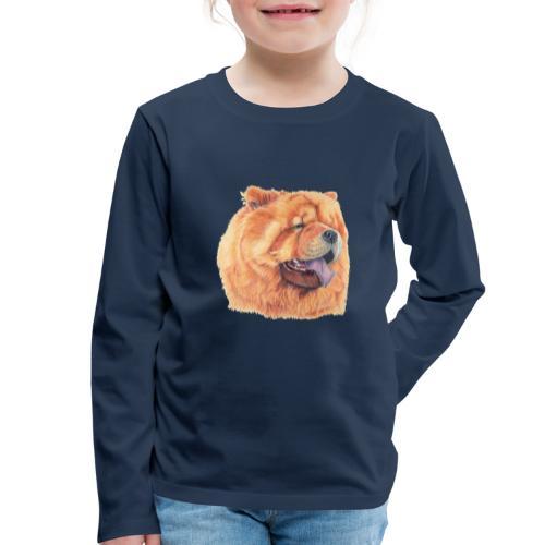 chow chow - Børne premium T-shirt med lange ærmer