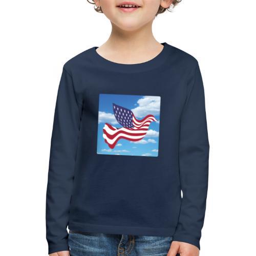 USA Spreads Peace - Kids' Premium Longsleeve Shirt