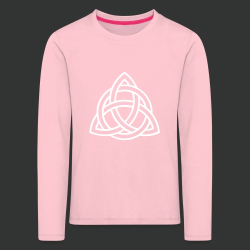 Celtic Knot — Celtic Circle - Kids' Premium Longsleeve Shirt