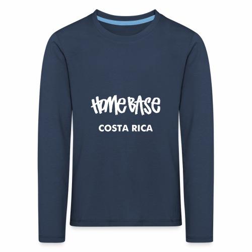 WORLDCUP Costa Rica - Kinder Premium Langarmshirt