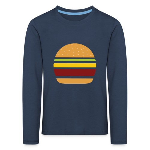 Logo Burger Panhamburger - T-shirt manches longues Premium Enfant