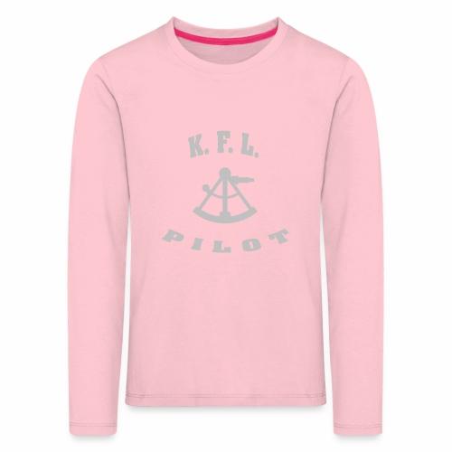 KFL_Back - Børne premium T-shirt med lange ærmer