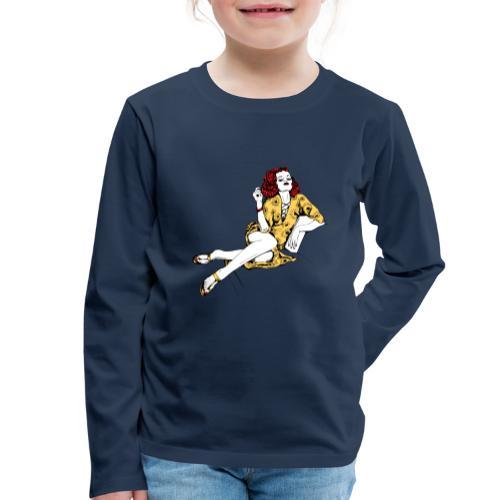 Women12 - Kinder Premium Langarmshirt