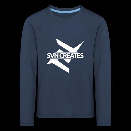 SVN Shirt logo 1 png - Kinderen Premium shirt met lange mouwen