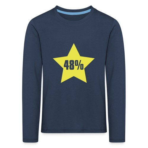48% in Star - Kids' Premium Longsleeve Shirt