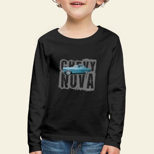 nova - Børne premium T-shirt med lange ærmer