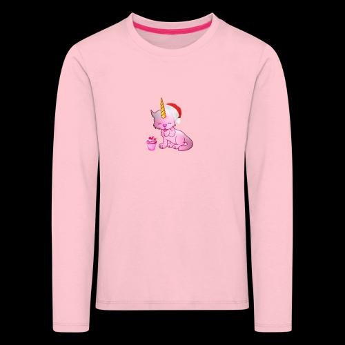 Licorne père noël - T-shirt manches longues Premium Enfant