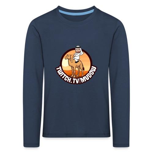 mudowdesign - Børne premium T-shirt med lange ærmer