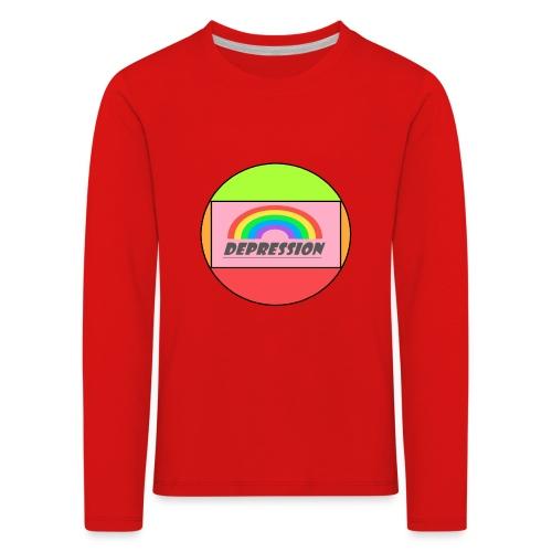 Depressed design - Kids' Premium Longsleeve Shirt
