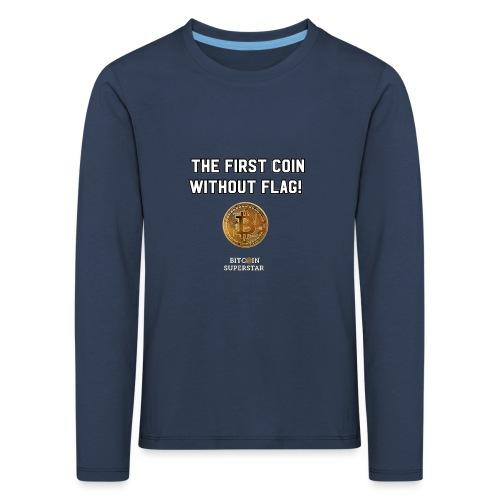 Coin with no flag - Maglietta Premium a manica lunga per bambini